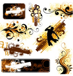 Decorative projects vector