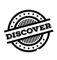 Discover rubber stamp vector