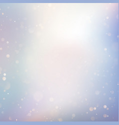 festive defocused lights effect abstract bokeh vector image