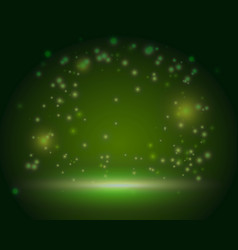 green ireland magic forest scene backdrop blank vector image