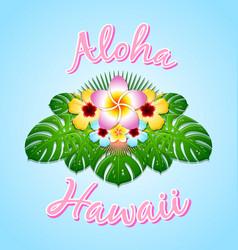 Hawaiian document background in polynesian style vector