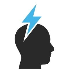 Head Pain Flat Pictogram vector