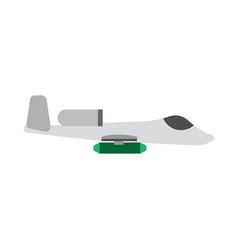 Jet fighter transport warplane engine warfare vector