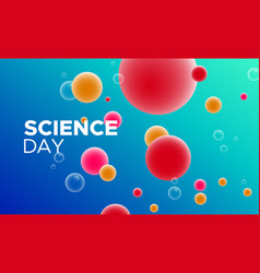 Science day abstract background with color cells vector