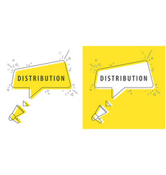 speaker and tag distribution vector image