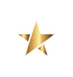 star logo graphic design template vector image