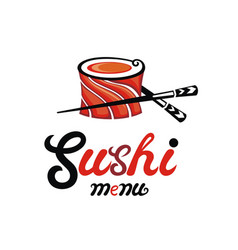 sushi restaurant vector image