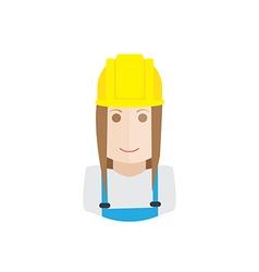 Worker avatar vector