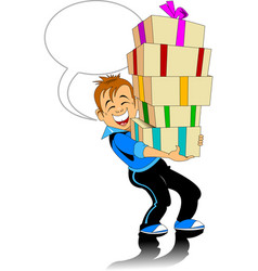 great gift vector image vector image