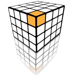 cube puzzle box vector image