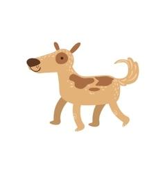 Shepherd dog walking vector