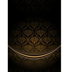 Black Luxury Background vector image
