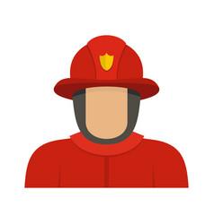 Hero icon flat style vector