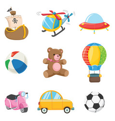 of kids toys vector image