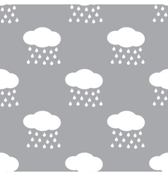 Rain seamless pattern vector