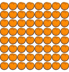 seamless orange vector image