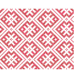 Seamless traditional russian and slavic ornament vector