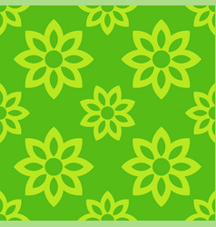 spring flowers seamless pattern vector image