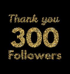 Thank you 400 followerstemplate for social media vector