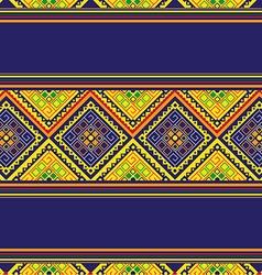 Thai Pattern Vintage vector image vector image