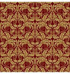 gold wallpaper vector image vector image