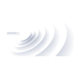 abstract ripple effect on white background circle vector image