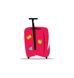Baggage Cartoon vector image