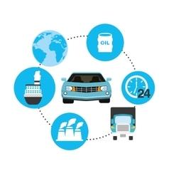Car production vector