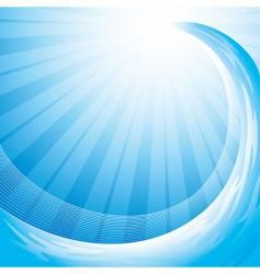 Ocean wave background vector