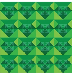 Squares seamless green background design vector