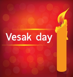 VESAK DAY vector image