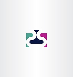 number twenty five 25 2 and 5 logo icon vector image vector image
