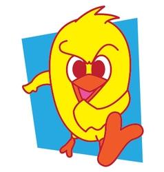 Kick Bird vector image vector image