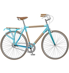 Bicycle blue1 01 vector
