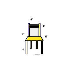 Furniture icon design vector
