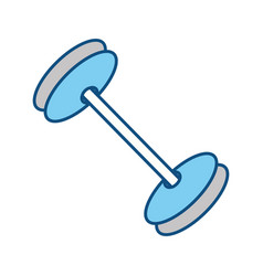 Isolated gym weight vector