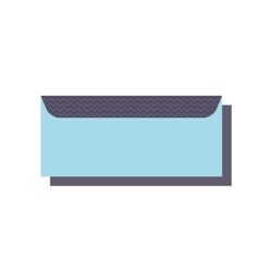 Office folder clip clamp and school paperclip vector image