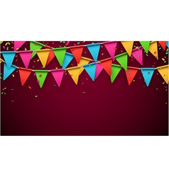Party celebration background vector image