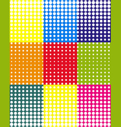 pop art colorful background vector image