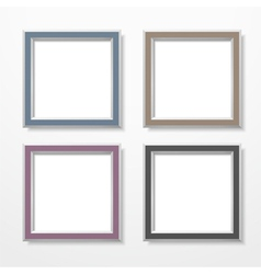 Square frames vector