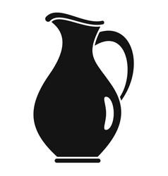 Water jug icon simple style vector