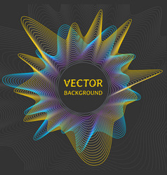 futuristic concept abstract background vector image