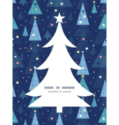 Abstract holiday christmas trees Christmas tree vector
