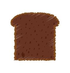 Bread fresh bakery vector