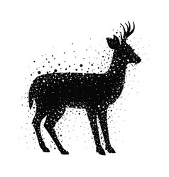Deer livestock animal design vector