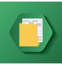 file format button icon vector image