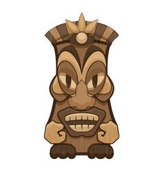 Maya idol icon cartoon style vector