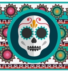 Mexico landmarks design vector