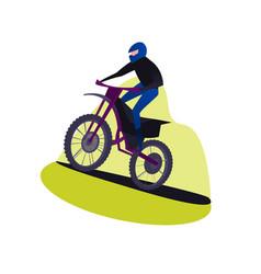 offroad motocross adventure vector image