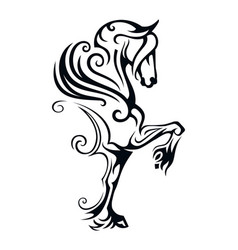 Pegasus winged horse vector